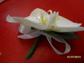 Бутониера от орхидея