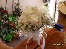 Букет за шаферка от рози