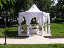 Сватбена маса - шатра
