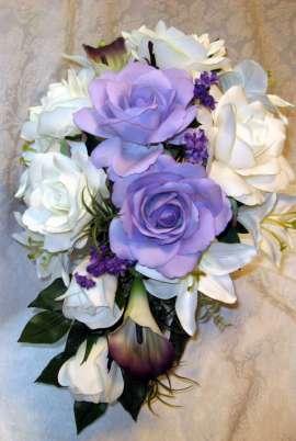 Булченски букет от рози и кала