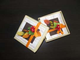 Картичка - кутия за бижута