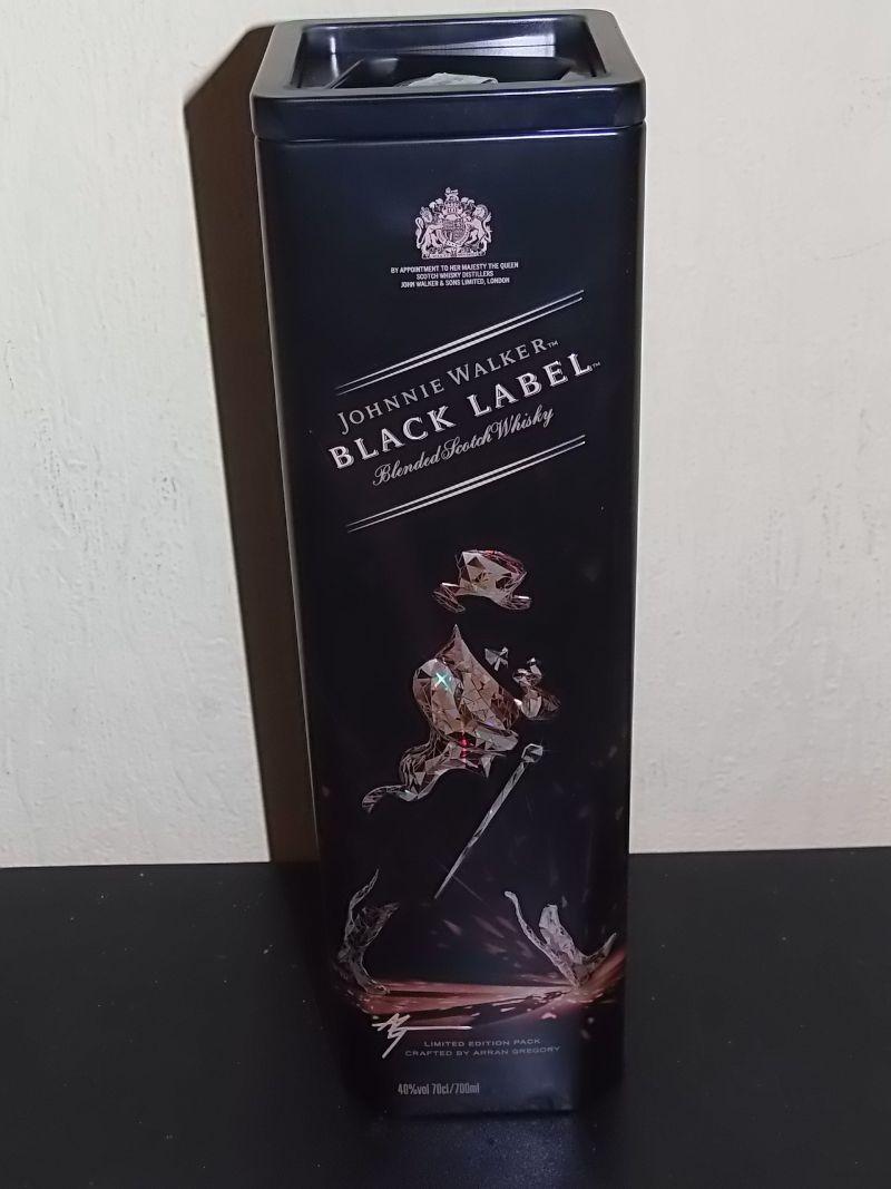Whisky Johnnie Walker black label