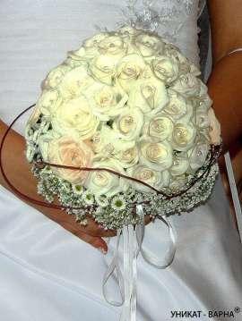 Булченски букет от рози