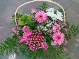 Кошница цветя
