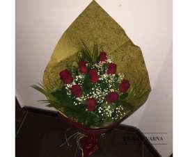 Букет 9 рози