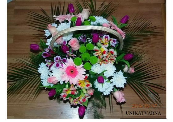 "Basket of flowers -""Spring"""