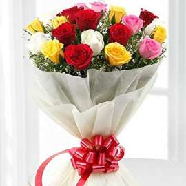 bouquet of roses 21 pc