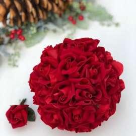 Букет 101 рози - червени