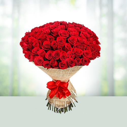 Букет рози - 51 броя
