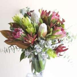 Букет от екзотични цветя