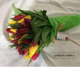 Bouquet tulips 25 pc